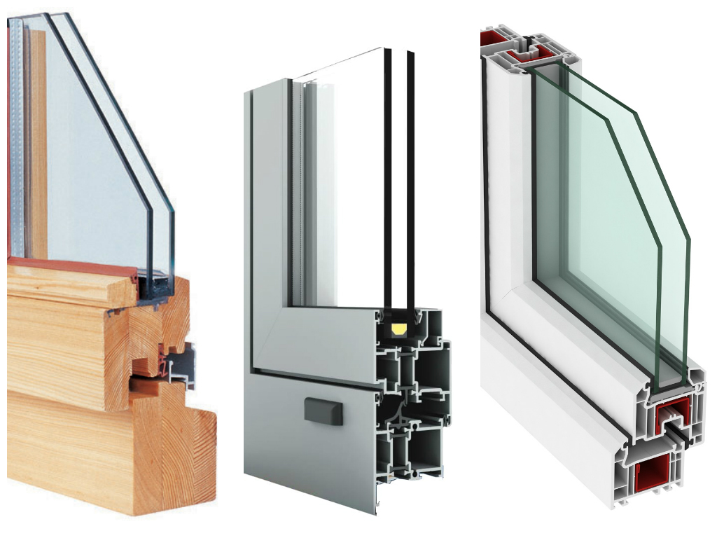 What To Choose Timber Aluminium And Upvc Windows
