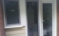 Casement uPVC Doors made by Blue Sky Windows, Melbourne, VIC