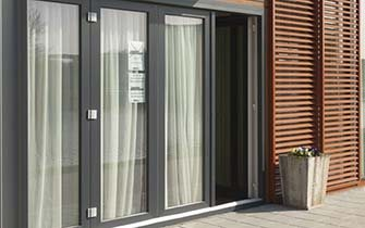 Slidng uPVC Doors made by Blue Sky Windows, Melbourne, VIC