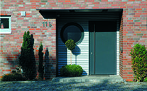 Entry uPVC Doors made by Blue Sky Windows, Melbourne, VIC