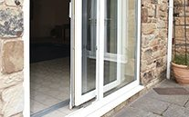 Parallel Slide uPVC Doors made by Blue Sky Windows, Melbourne, VIC
