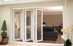 Bi-fold uPVC Doors made by Blue Sky Windows, Melbourne, VIC