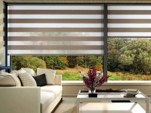 Motorized and remotely controlled blinds