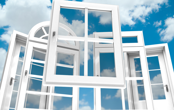 glazing uPVC windows